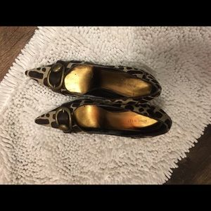Nine W. high heels 10 medium pointed toe